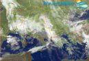 Perturbazione in transito sulla nostra regione favorirà rovesci diffusi e nevicate fino a quote collinari, specie nella seconda metà della giornata