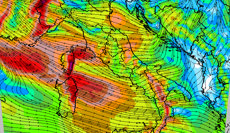 Atteso un deciso rinforzo dei venti occidentali nella giornata di domenica con temporaneo aumento delle temperature. Da lunedì sera avremo un clima invernale