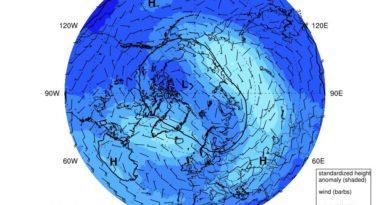 Stratosfera: il Vortice Polare riprende la sua attivitá