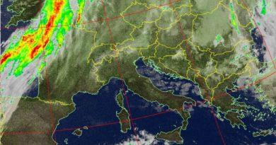 Una perturbazione di origine nord atlantica sospinta da masse d'aria fredda provenienti dall'Europa centro-settentrionale attraverserà la nostra penisola tra stasera e domattina