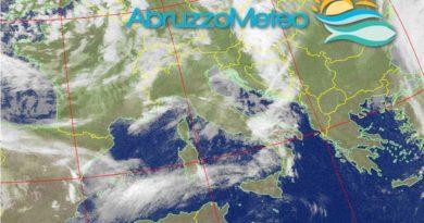 Martedì caratterizzato da annuvolamenti, venti di Libeccio in rinforzo e temperature in aumento a causa del transito di un veloce sistema nuvoloso di origine atlantica