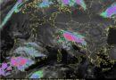 Deboli sistemi nuvolosi attraverseranno la nostra penisola nel fine settimana, favorendo annuvolamenti e possibili precipitazioni anche sulle regioni centrali