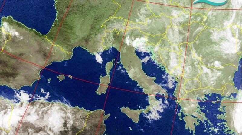 Tempo in peggioramento nelle prossime ore a causa dell'arrivo di un nucleo di aria fresca sulle regioni centro-settentrionali che favorirà rovesci e manifestazioni temporalesche anche in Abruzzo